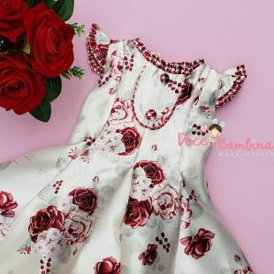 Vestido Petit Cherie de Festa Floral Fashion