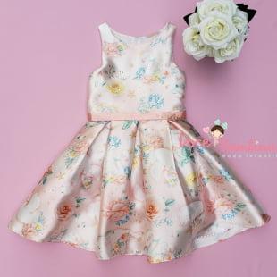 Vestido Petit Cherie de Festa Floral Kids Lago dos Cisnes