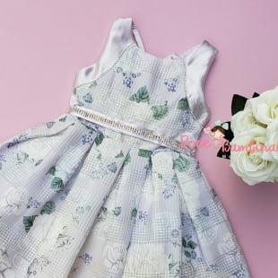 Vestido Petit Cherie de Festa Floral Lilás Love Delicate