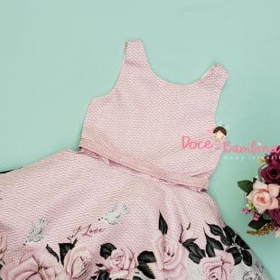 Vestido Petit Cherie de Festa Floral Love Summer