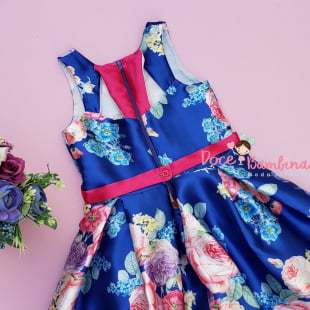 Vestido Petit Cherie de Festa Jardim de Encantos