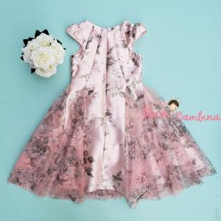 Vestido Petit Cherie de Festa Kids Floral Fabuloso