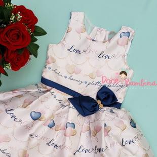 Vestido Petit Cherie de Festa Love