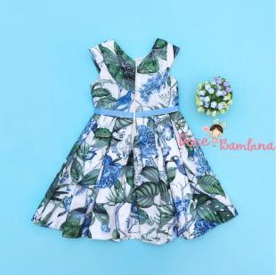 Vestido Petit Cherie de Festa Botanic Green