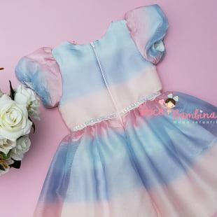 Vestido Petit Cherie de Festa Butterflies Magic