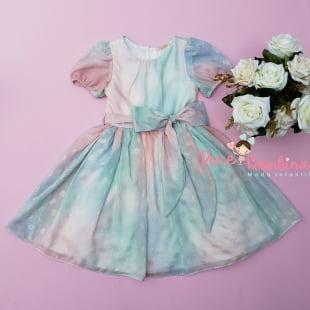 Vestido Petit Cherie de Festa Candy Color