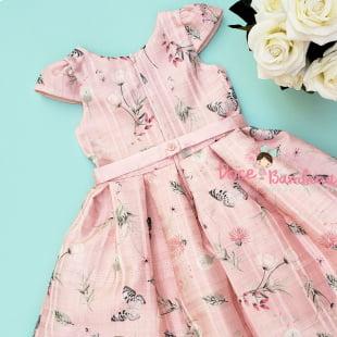 Vestido Petit Cherie de Festa Delicate Girls
