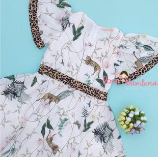 Vestido Petit Cherie de Festa Jungle