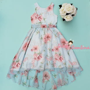Vestido Petit Cherie de Festa Kids Floral Serenity