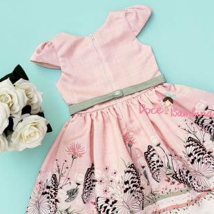 Vestido Petit Cherie de Festa Romantic