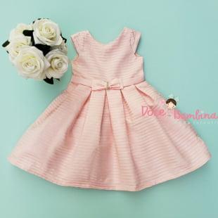 Vestido Petit Cherie de Festa Rosa Charming