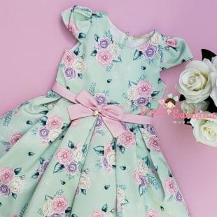 Vestido Petit Cherie de Festa Verão Fresh Floral