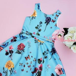 Vestido Petit Cherie de Festa Verão Jardim