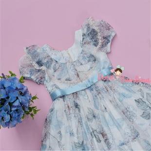 Vestido Petit Cherie de Festa Classic Flowers