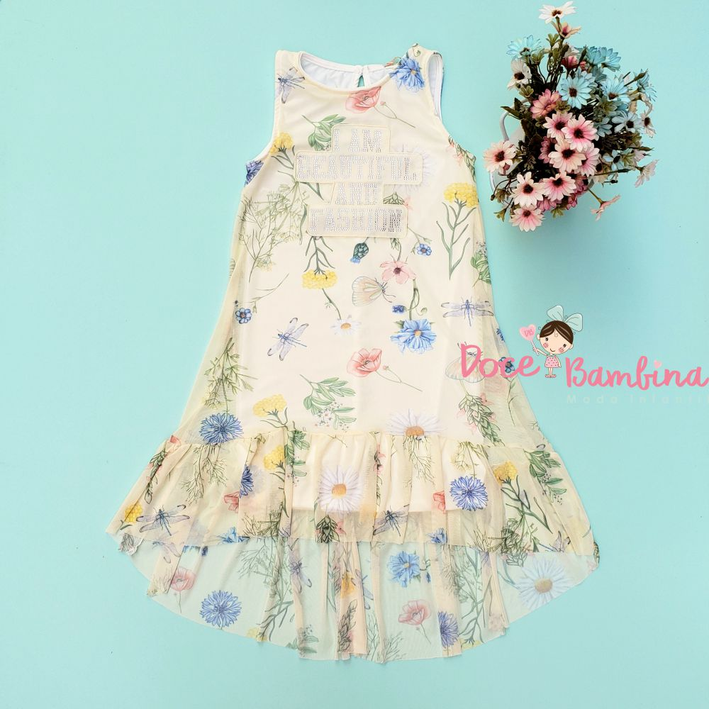 Vestido Petit Cherie Casual Fashion Flowers