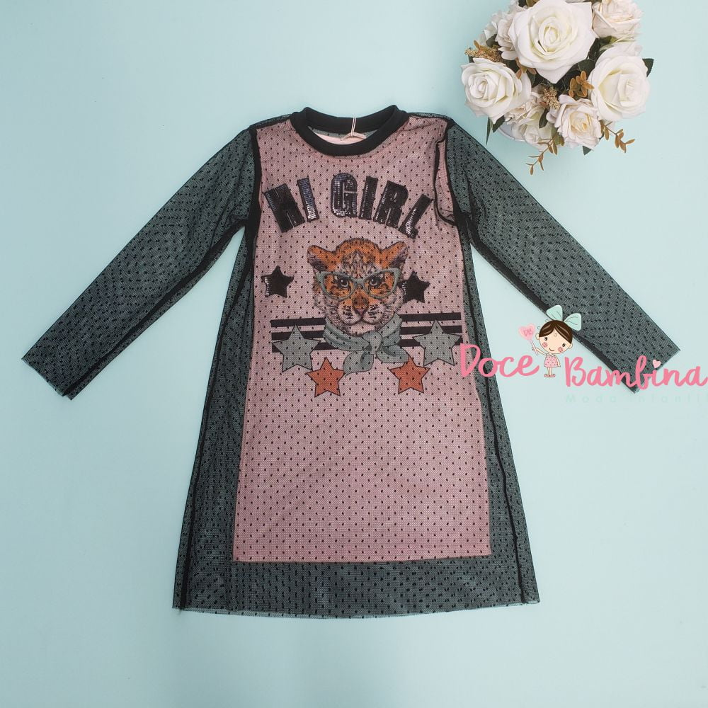 Vestido Petit Cherie Casual Kids Have Fun