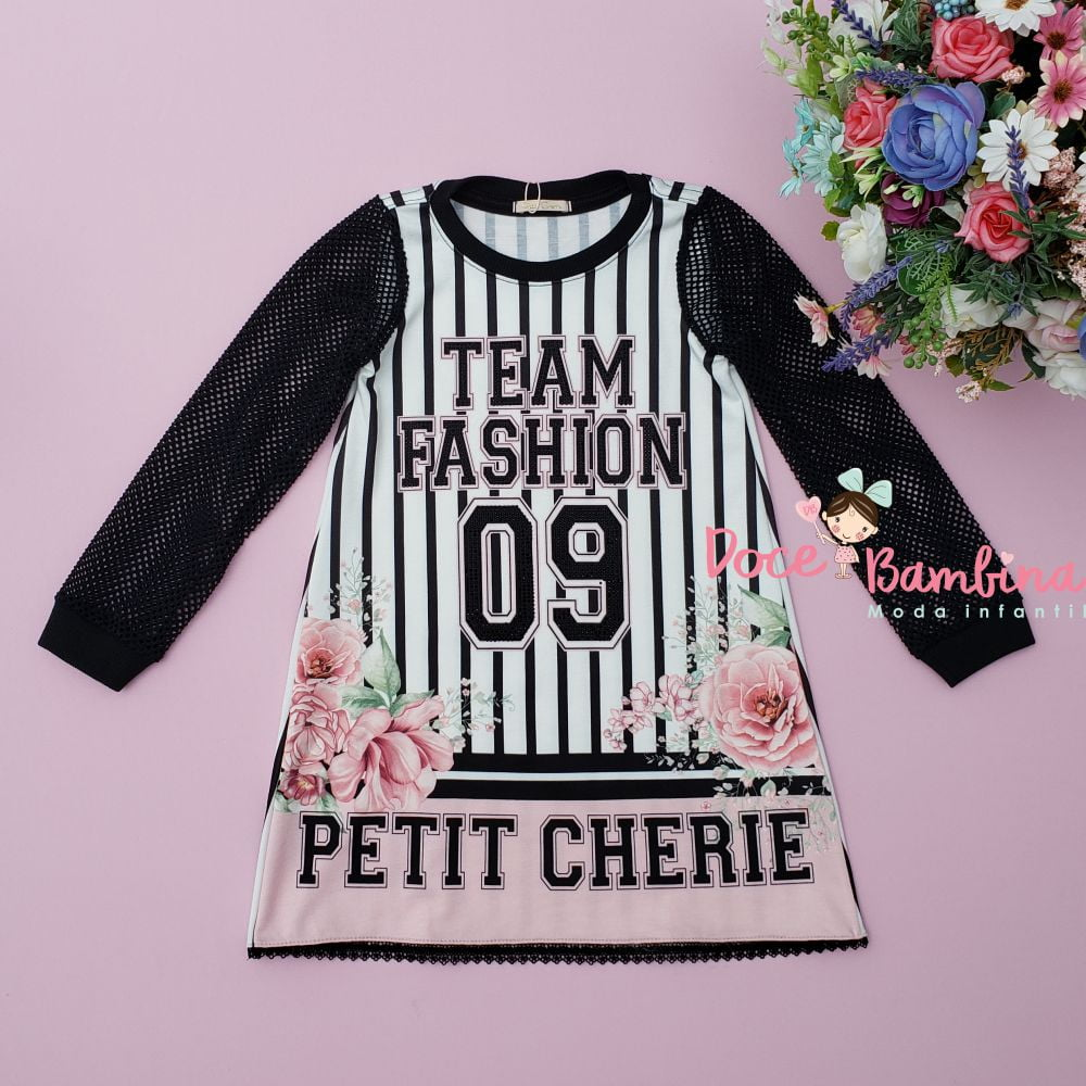 Vestido Petit Cherie Casual Listras Style