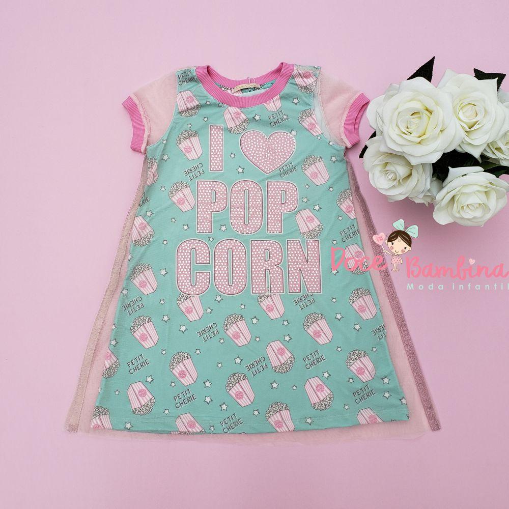 Vestido Petit Cherie Casual Pop Corn