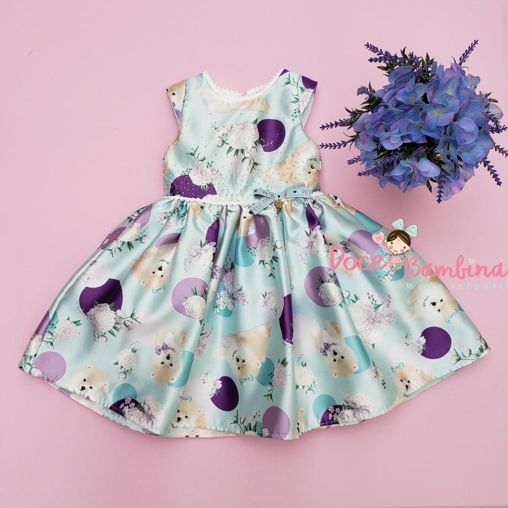 Vestido Petit Cherie de Festa Color Fresh Encanto