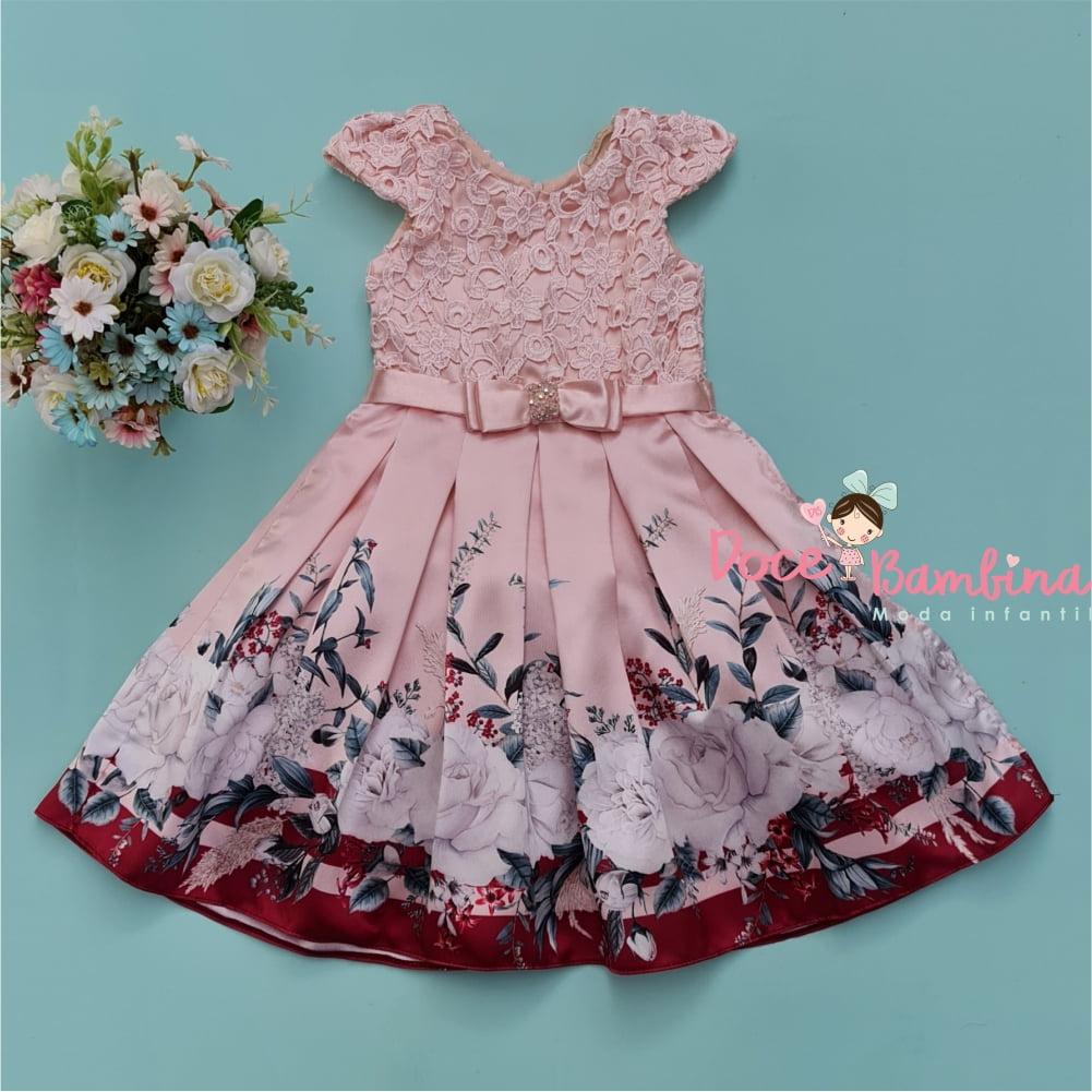 Vestido Petit Cherie de Festa Jardim das Flores